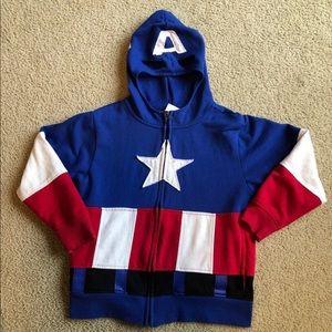 Boy's Captain America hoodie